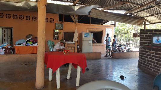 Een locaal restaurant in Merida