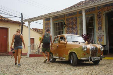 Wandering in Trinidad Cuba