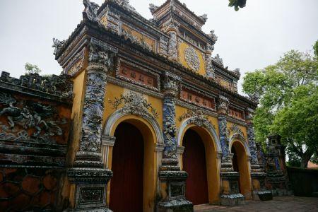 City gate in het Citadel