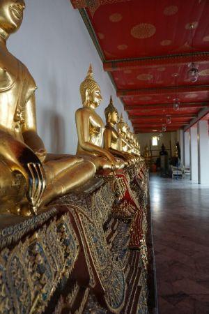 Budha's in Wat Pho