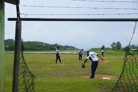 Softball match Bocas