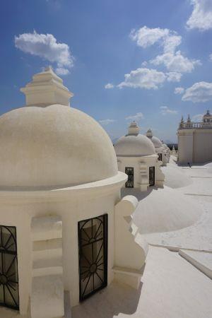 Santa Maria de Leon roof