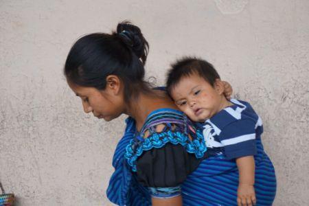 Mayan Familie