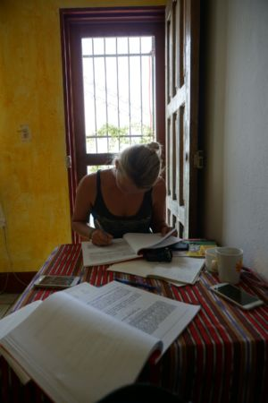 Studying at Dos Monos