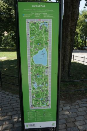 Map Central Park
