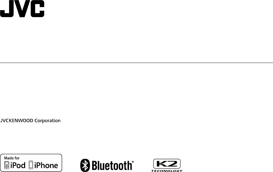 Bruksanvisning JVC KD-R981BT (144 sidor)