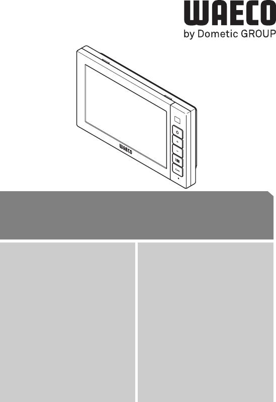 Bruksanvisning Waeco PerfectView M75LX (256 sidor)