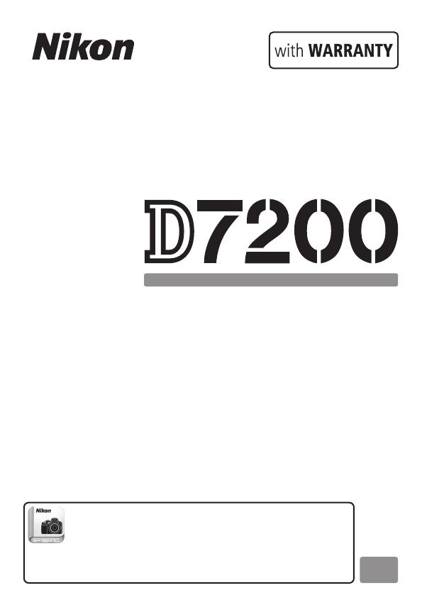 Bruksanvisning Nikon D7200 (420 sider)