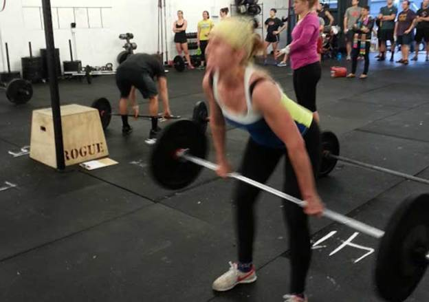 2013 I AM Crossfit Challenge begins with a bang