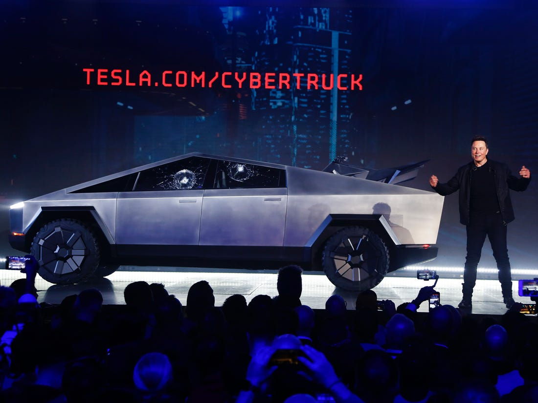 Tesla Cybertruck Website