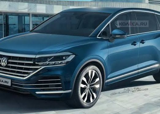 Volkswagen Viloran MPV render