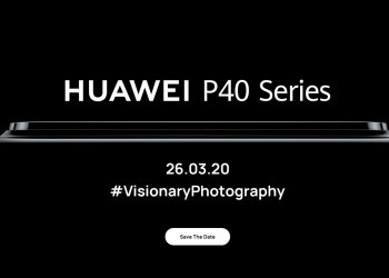 huawei p40 series launch event