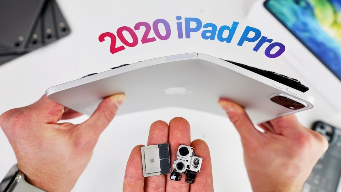 2020 Pad Pro bend test