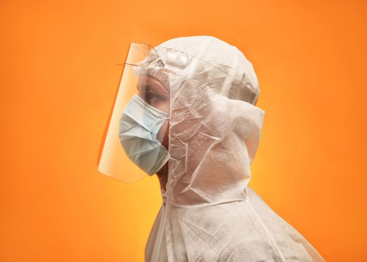 Simple Face Shield for healthcare workers