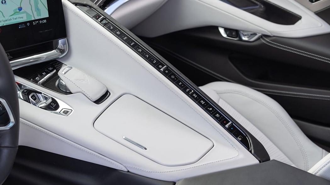 Interiors of the 2020 Chevrolet Corvette Stingray