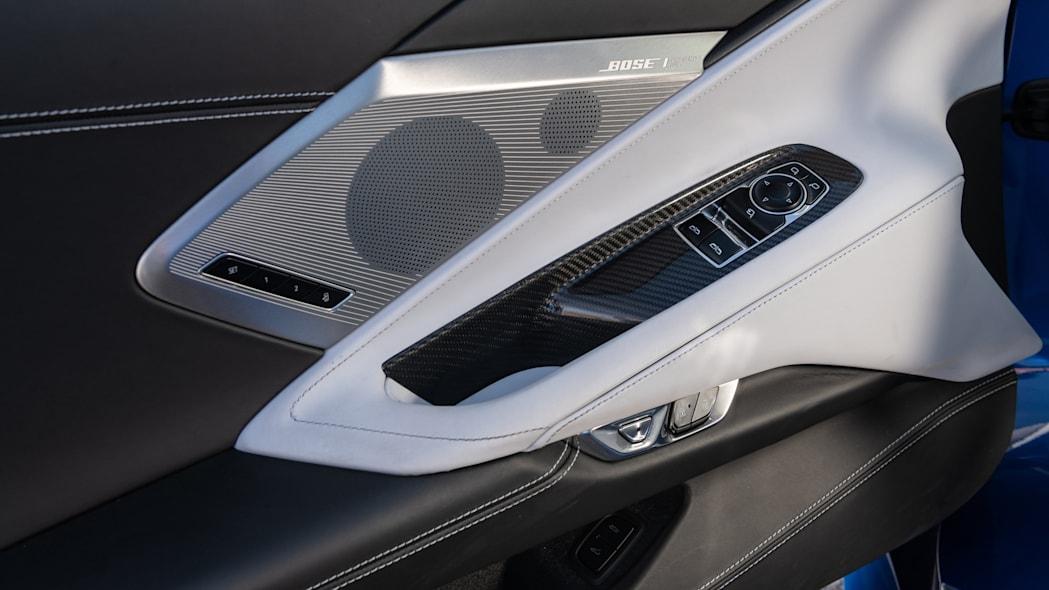Bose speaker on the 2020 Chevrolet Corvette Stingray
