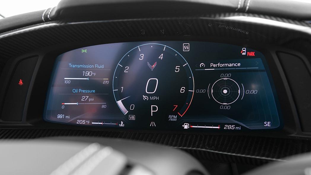 2020 Chevrolet Corvette Stingray speedometer