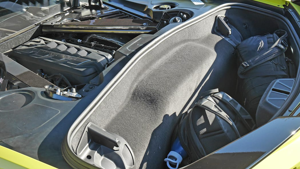 2020 Chevrolet Corvette Stingray rear cargo space