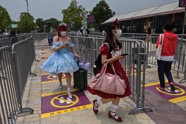 Shanghai Disneyland reopened