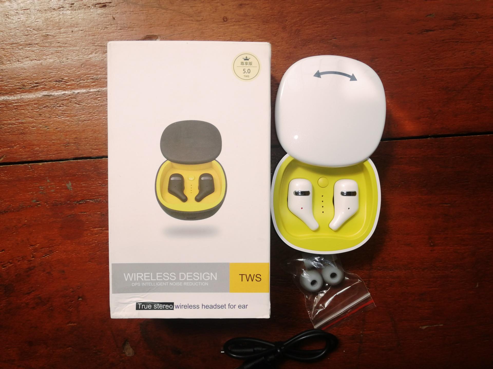 unvoxing SZWYOR A2 TWS Earbuds