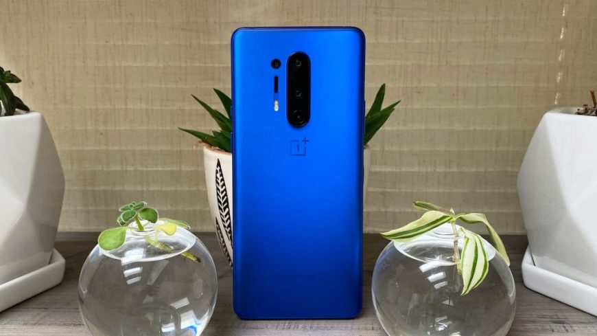 OnePlus 8 blue color