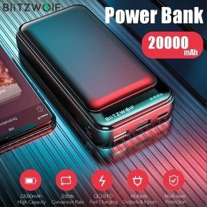 BlitzWolf 20000mAh Powerbank