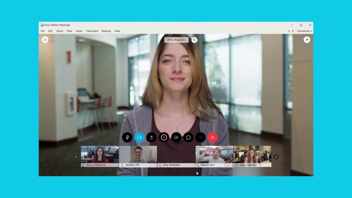 Cisco webex virtual background