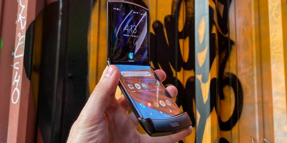 Next Motorola Razr folding phone