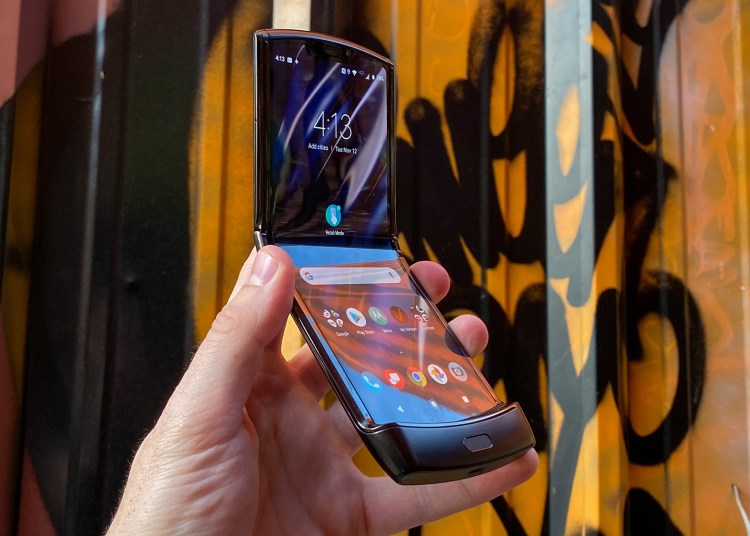 Next Motorola Razr folding phone