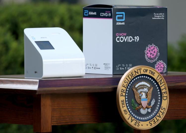 Abbott FDA approval for COVID-19 testing