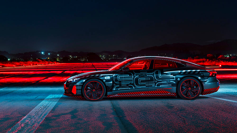 Audi RS E-Tron GT HD images