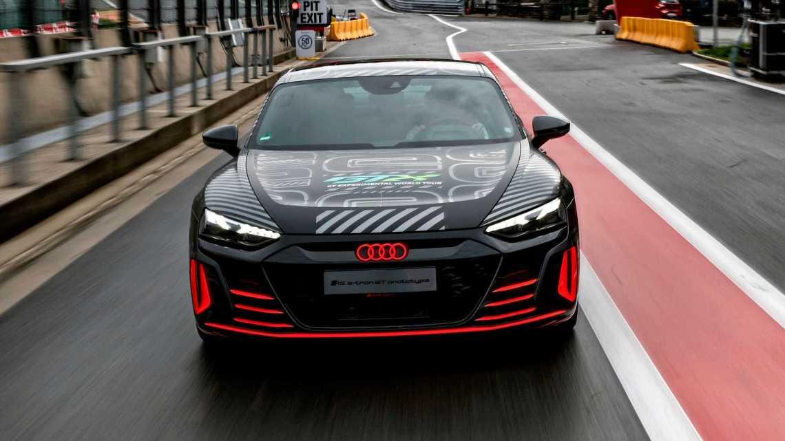 RS E-Tron GT facelift
