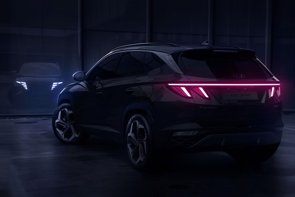 Hyundai Tucson 2022 teaser