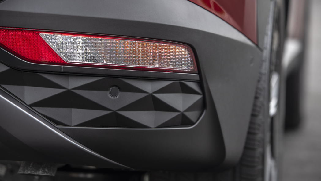 The tail indicator light