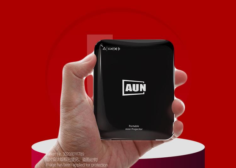 AUN X3 Mini Projector deal