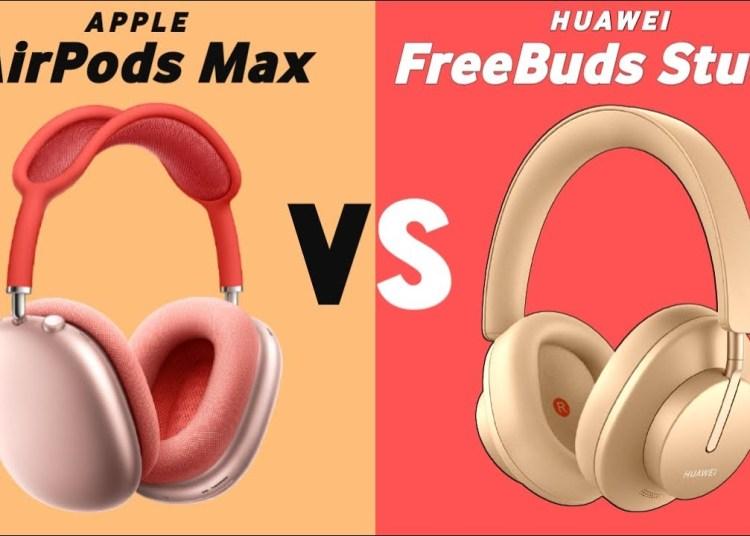 Freebuds Studio vs AirPods Max