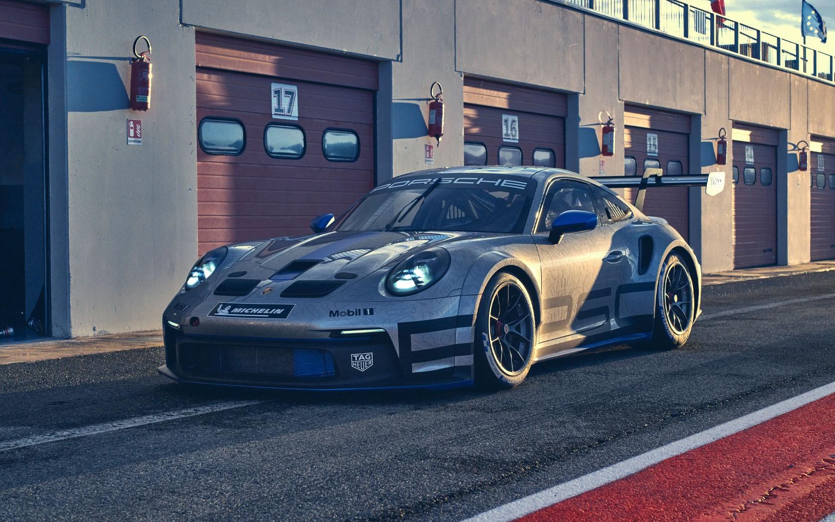 Porsche 911 GT3 Cup 2021 design