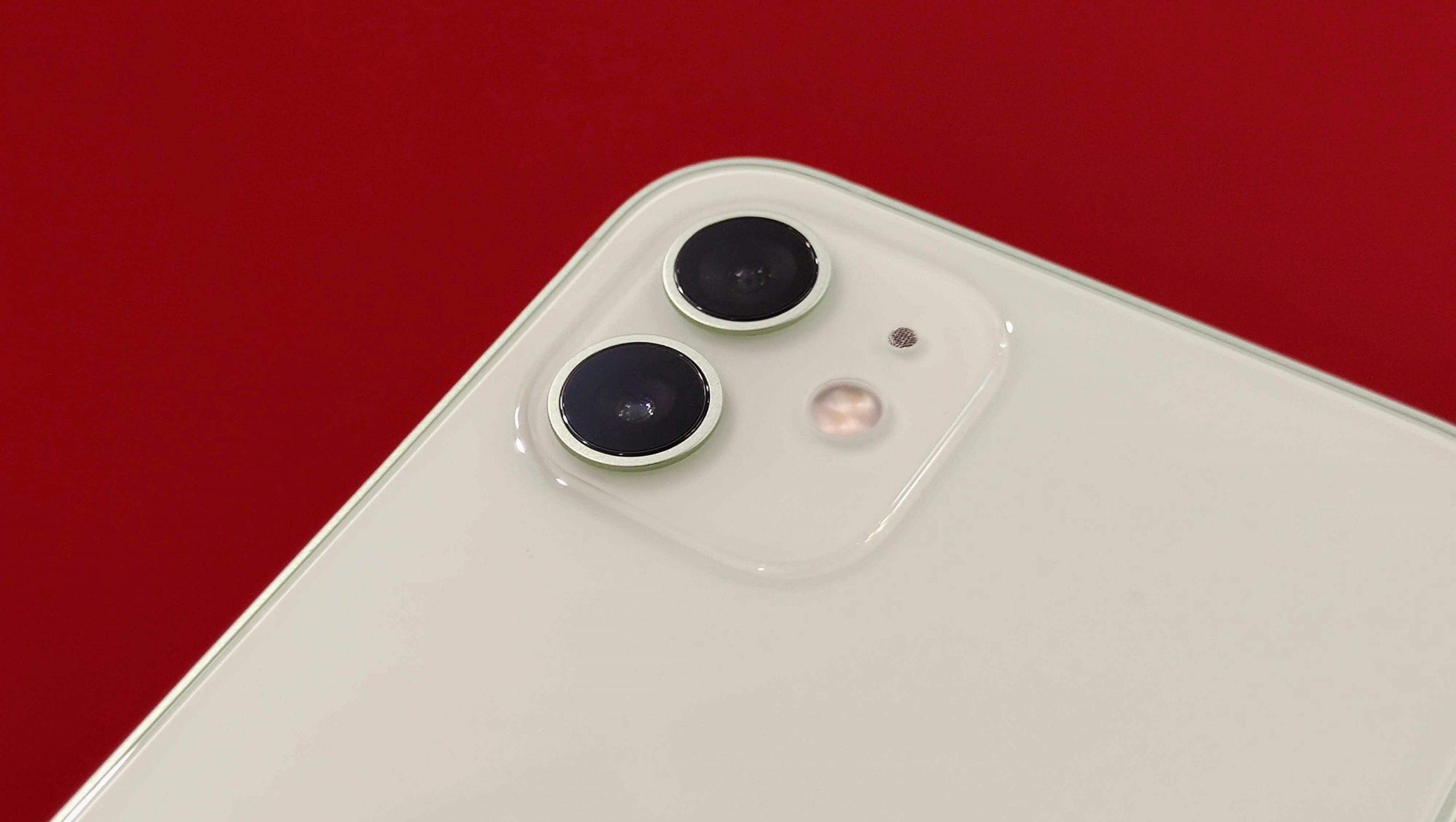 iPhone 12 rear camera