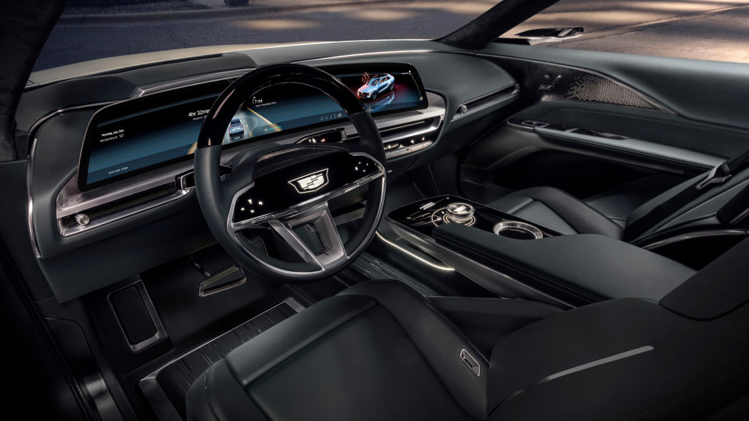 Cadillac Lyriq EV infotainment screen