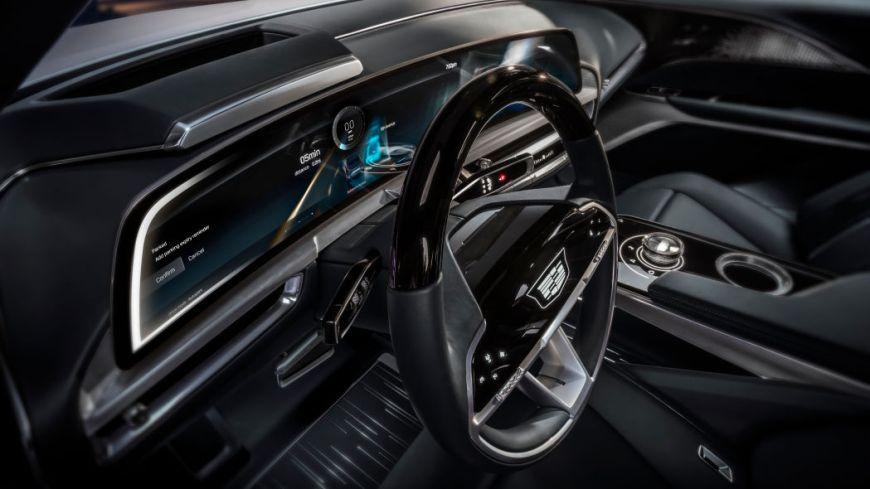Cadillac Lyriq EV display
