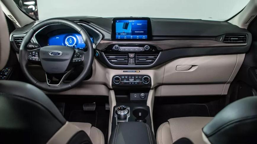 Ford Escape 2021 center console