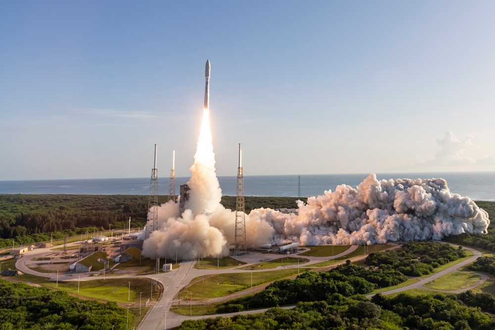 NASA Perseverance mission launch