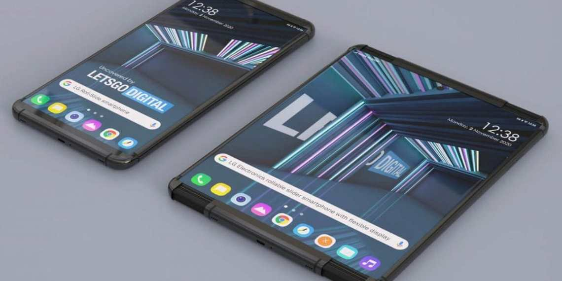 LG Rollable render