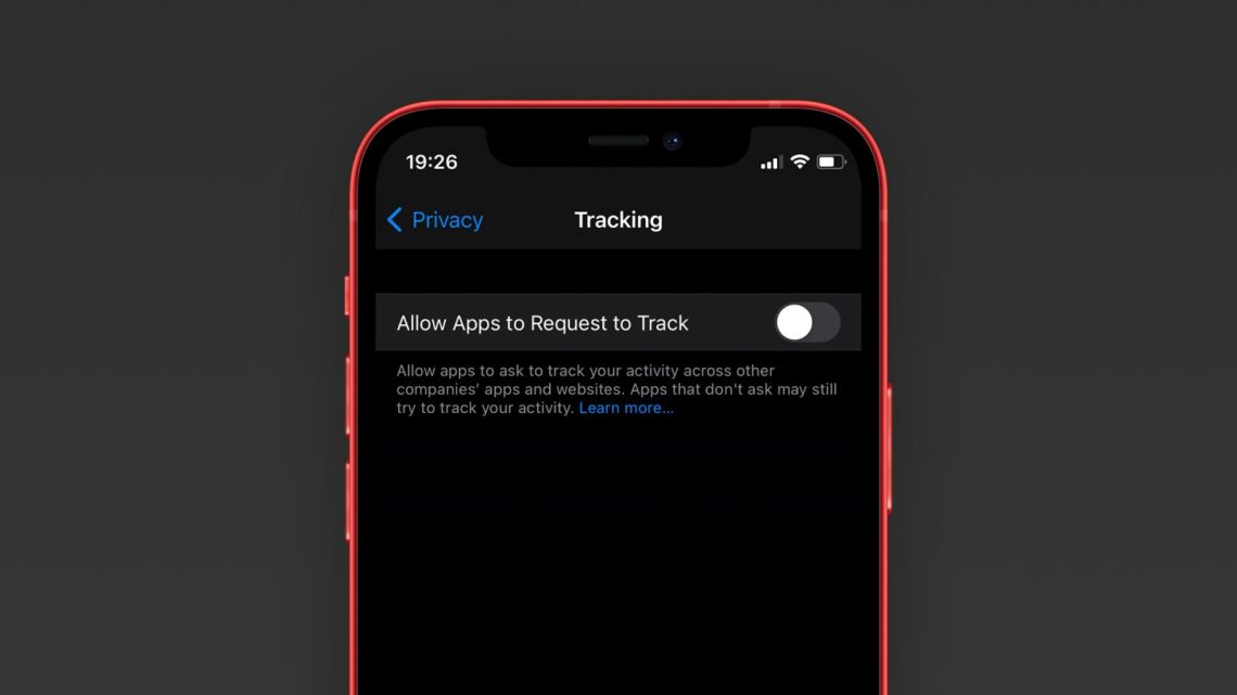 App tracking transparency setting iOS 14.5