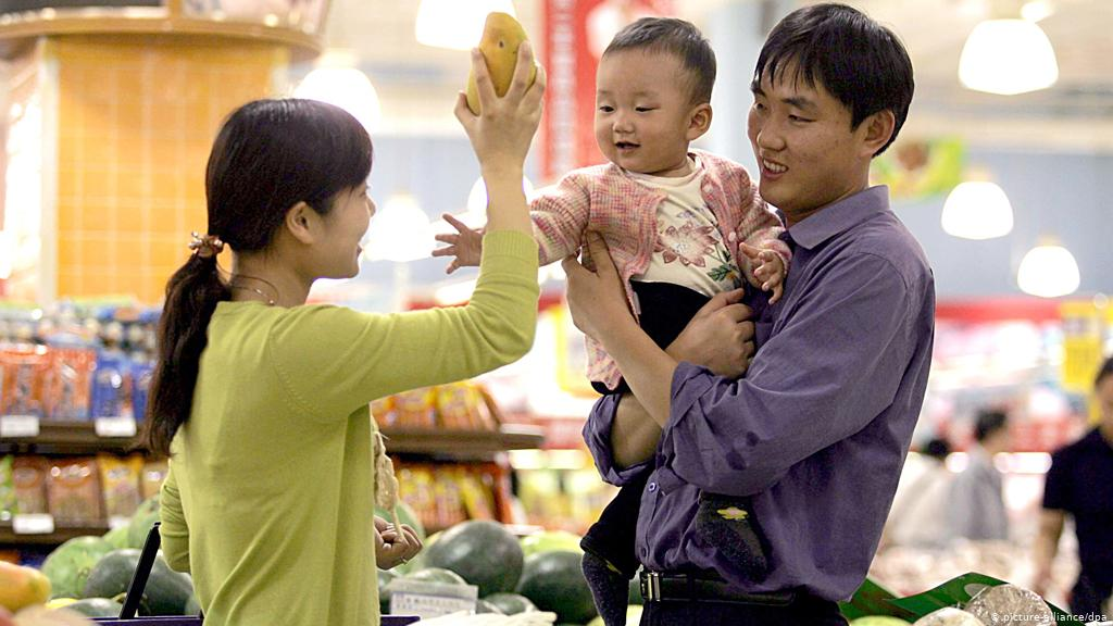 China replace two-child policy with three-child policy over low birth rate