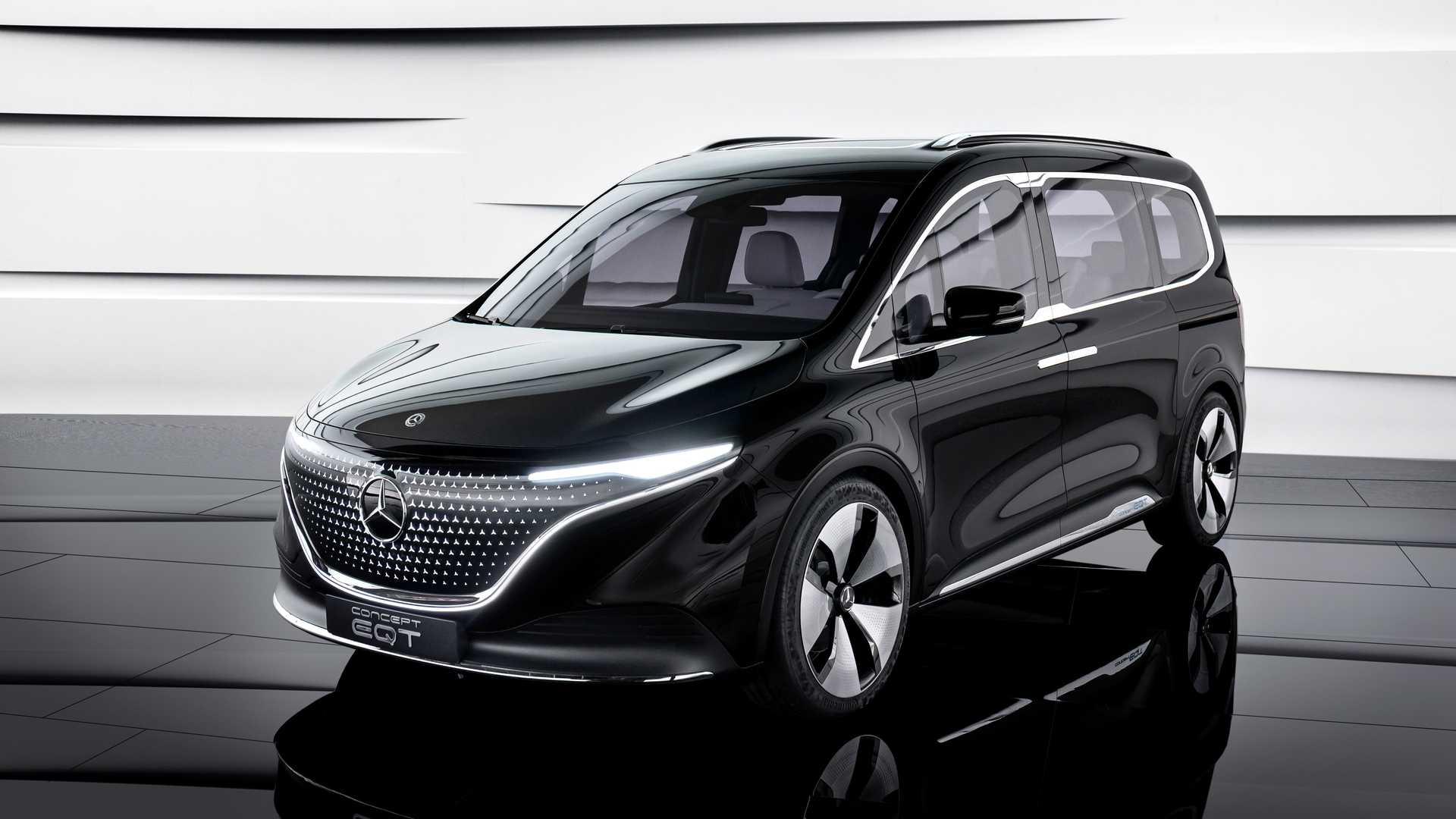 Mercedes Benz Concept EQT overall design