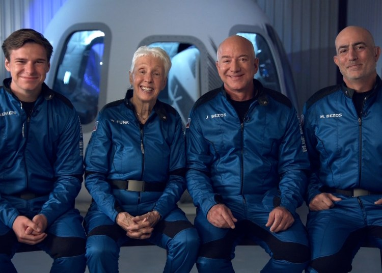 Jeff Bezos going Space