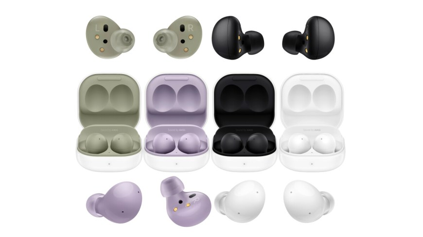 Galaxy Buds 2 colors
