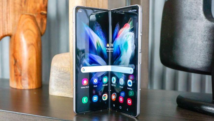 Galaxy Z Fold 3 big display