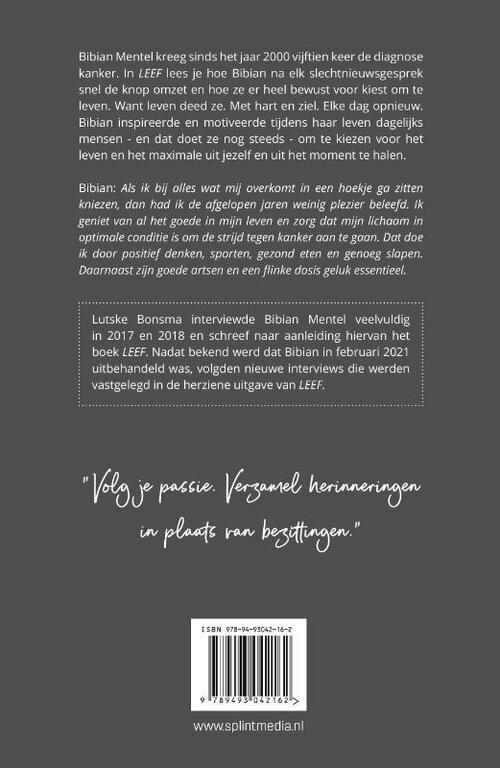 16 Apr 2021. Bibian Mentel Leef Videoland